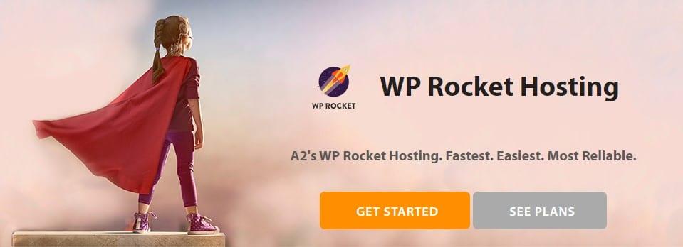 A2Hosting Includes basic WP ROCKET !! A web host WordPress super Fast !